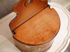 画像9: レア!ハンドペイントのバラ模様のセル缶 (9)