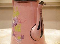 画像8: 花柄小さめサイズのピンクのホーローポット (8)