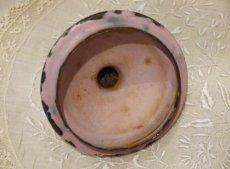 画像10: 花柄小さめサイズのピンクのホーローポット (10)