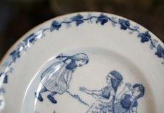 画像3: ジアン 子供柄 おままごと小皿 ブルー (3)