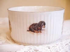 画像3: 子供と子犬柄 陶器のカップ (3)