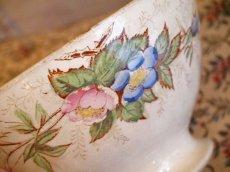 画像5: ショワジールロワ 花柄カフェオレボウル (5)