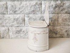 画像3: 小花柄クリーム色のセル缶 (3)