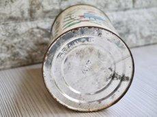 画像6: 女性と子供柄の円柱型Tin缶 (6)