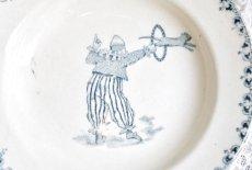 画像2: St.Amand サーカス曲芸柄 おままごと小皿(深皿タイプ) (2)