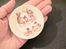 画像4: リュヴィネル 母親と子供たち絵柄 おままごと深皿 (4)