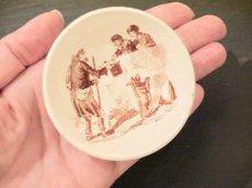 画像4: リュネヴィル 老人と子供柄 おままごと深皿 (4)