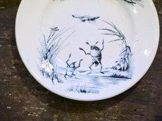 画像2: リュネヴィルおままごと小皿 ゲンゴロウ柄 (2)