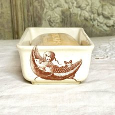 画像3: リュネヴィル 陶器のソープディッシュとソープセット (3)