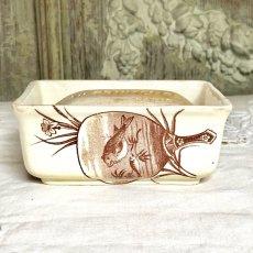 画像6: リュネヴィル 陶器のソープディッシュとソープセット (6)