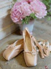 画像1: ピンクのレペットバレエシューズ (1)
