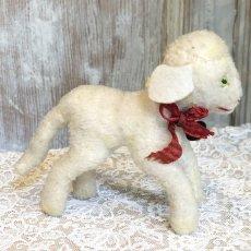 画像2: シュタイフ 白い羊のぬいぐるみ (2)