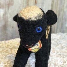 画像4: シュタイフ 黒い羊のぬいぐるみ (4)