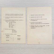 画像7: ノートカバーや単語練習紙などの紙製品11点セット (7)