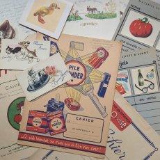 画像1: ノートカバーや単語練習紙などの紙製品11点セット (1)
