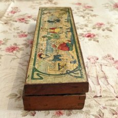 画像4: 子供柄木製ペンケース (4)