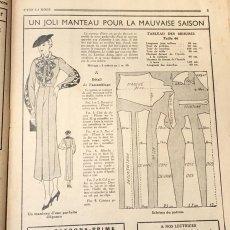 画像8: モード冊子『 la Femme de France』『C'EST LaMode』とペン画の4点セット (8)