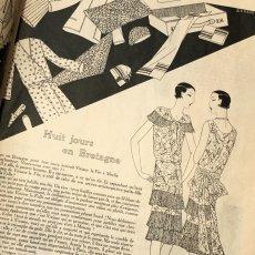 画像6: モード冊子『 la Femme de France』『C'EST LaMode』とペン画の4点セット (6)