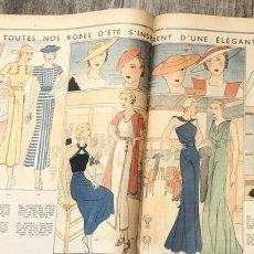 画像7: モード冊子『 la Femme de France』『C'EST LaMode』とペン画の4点セット (7)