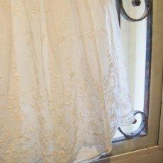 画像2: 子供用白いチュールドレス ビンテージ (2)