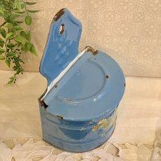 画像5: ベリー柄ブルーのセル缶 (5)