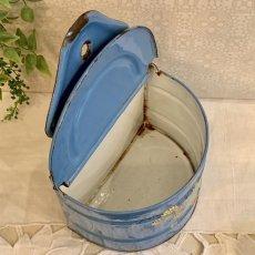 画像6: ベリー柄ブルーのセル缶 (6)