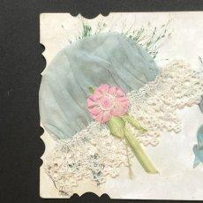 画像3: 天使とブルーのボネカード (3)