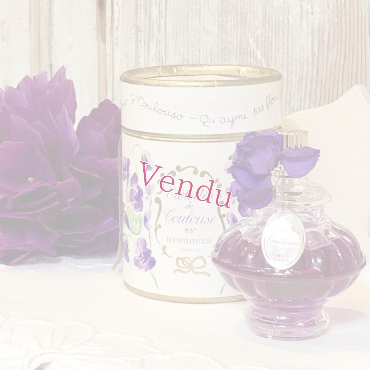 画像1: BERDOUESオリジナルBOX付き スミレ香水 (1)