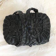 画像5: ドール用の黒色ミニパニエ (5)