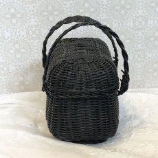 画像3: ドール用の黒色ミニパニエ (3)