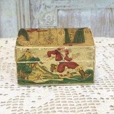 画像3: 古い紙製 スミレの香水箱 (3)