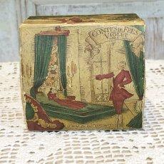 画像5: 古い紙製 スミレの香水箱 (5)