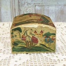 画像4: 古い紙製 スミレの香水箱 (4)