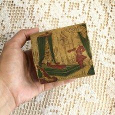 画像9: 古い紙製 スミレの香水箱 (9)