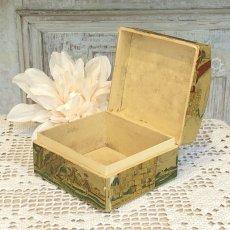 画像7: 古い紙製 スミレの香水箱 (7)