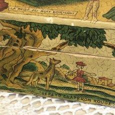 画像6: 古い紙製 スミレの香水箱 (6)