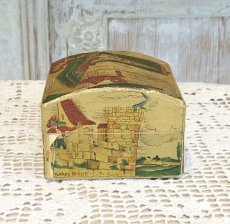 画像2: 古い紙製 スミレの香水箱 (2)