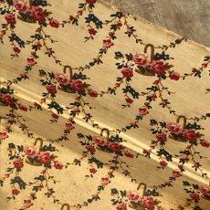 画像6: 薔薇やツタ花籠柄 カルトナージュ (6)