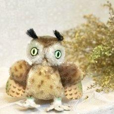 画像1: シュタイフ フクロウ OWL WITTIE (1)