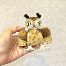 画像8: シュタイフ フクロウ OWL WITTIE (8)