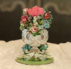 画像1: お花と聖杯のカニヴェ立体カード (1)