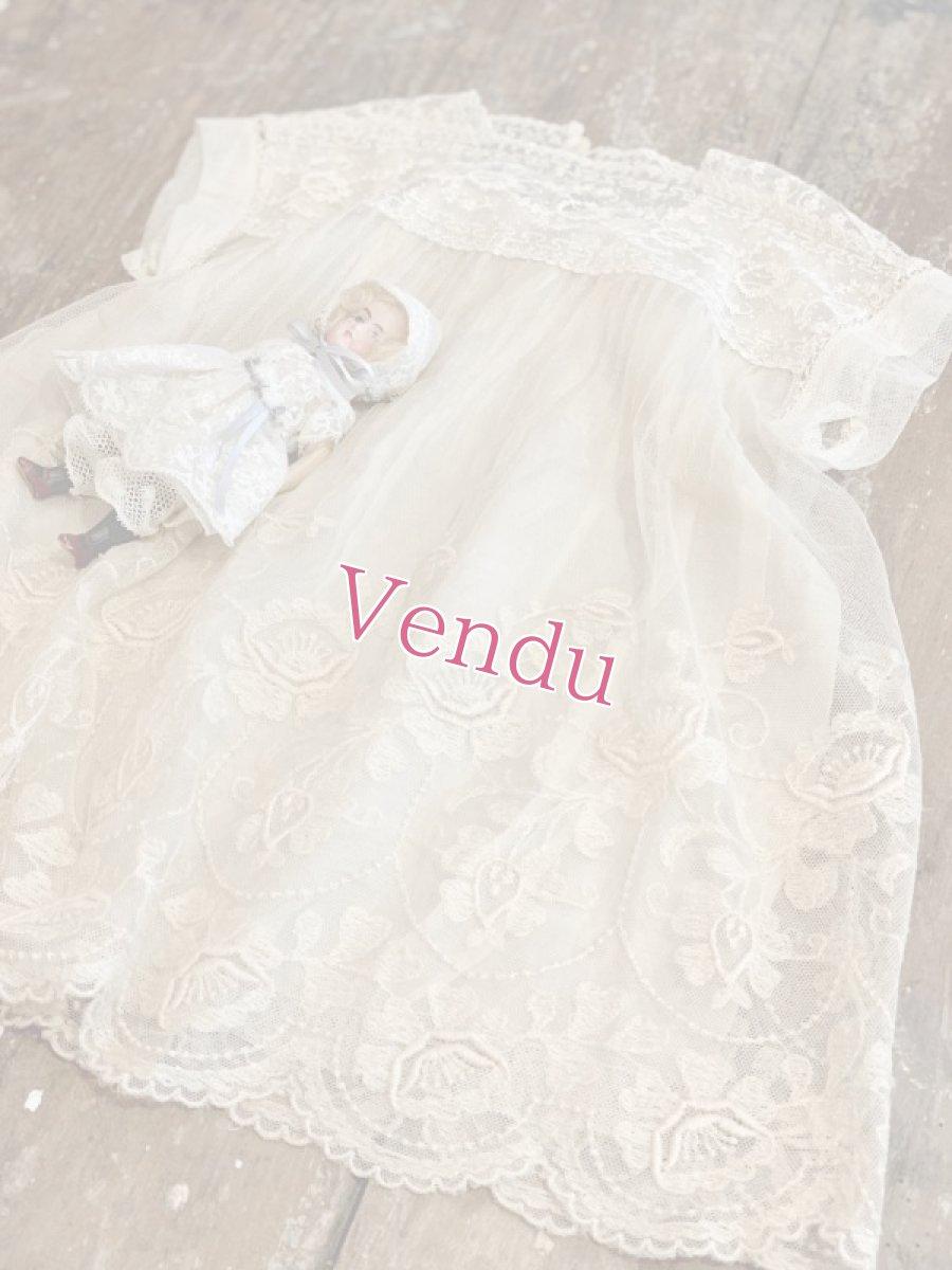 画像1: チュールベビードレス (1)