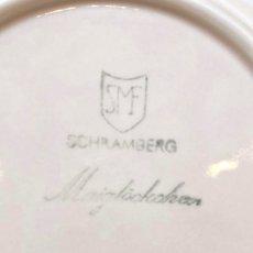 画像7: シュランベルク ピンクのスズランモチーフ トリオ (7)