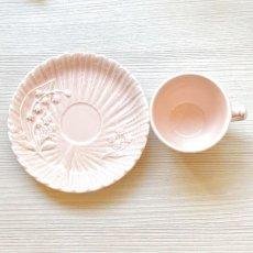 画像9: シュランベルク ピンクのスズランモチーフ トリオ (9)