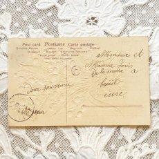 画像2: 鉢植えリボンのスズラン ポストカード (2)