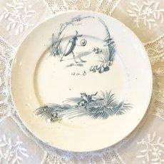 画像1: リュネヴィル ゲンゴロウ柄 おままごと小皿 (1)