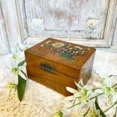画像1: モシュリンヌ マーガレットとスミレの小箱 (1)