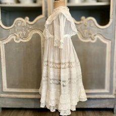画像2: ヴァランシエンヌレースのチャイルドドレス (2)