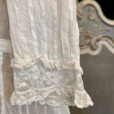 画像7: ヴァランシエンヌレースのチャイルドドレス (7)