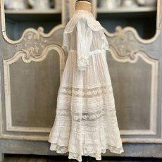 画像4: ヴァランシエンヌレースのチャイルドドレス (4)
